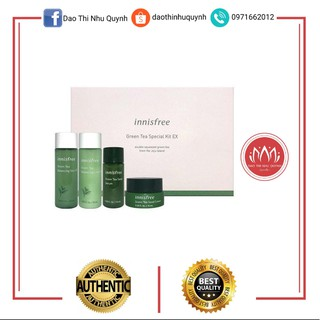 Set Dưỡng Da Trà Xanh Mini Innisfree Green Tea Balancing Special Kit Innisfree