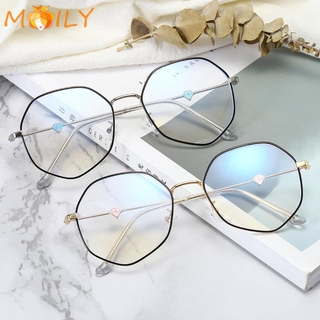 MOILY Unisex Computer Goggles Vision Care Flat Mirror Eyewear Glasses Ultralight Anti-UV Blue Rays Fashion Radiation Protection Eyeglasses