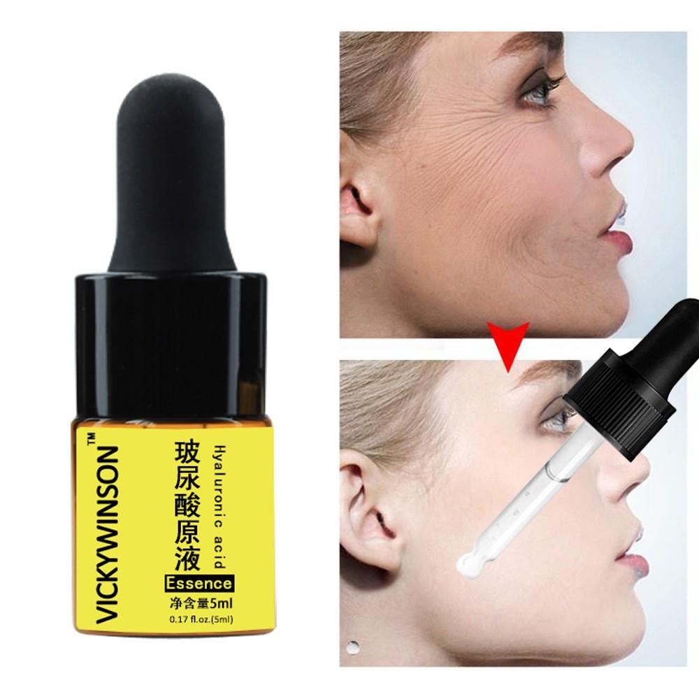 Tinh chất axit hyaluronic dưỡng ẩm hỗ trợ giảm mụn làm trắng da chống lão hóa dung tích 5ml