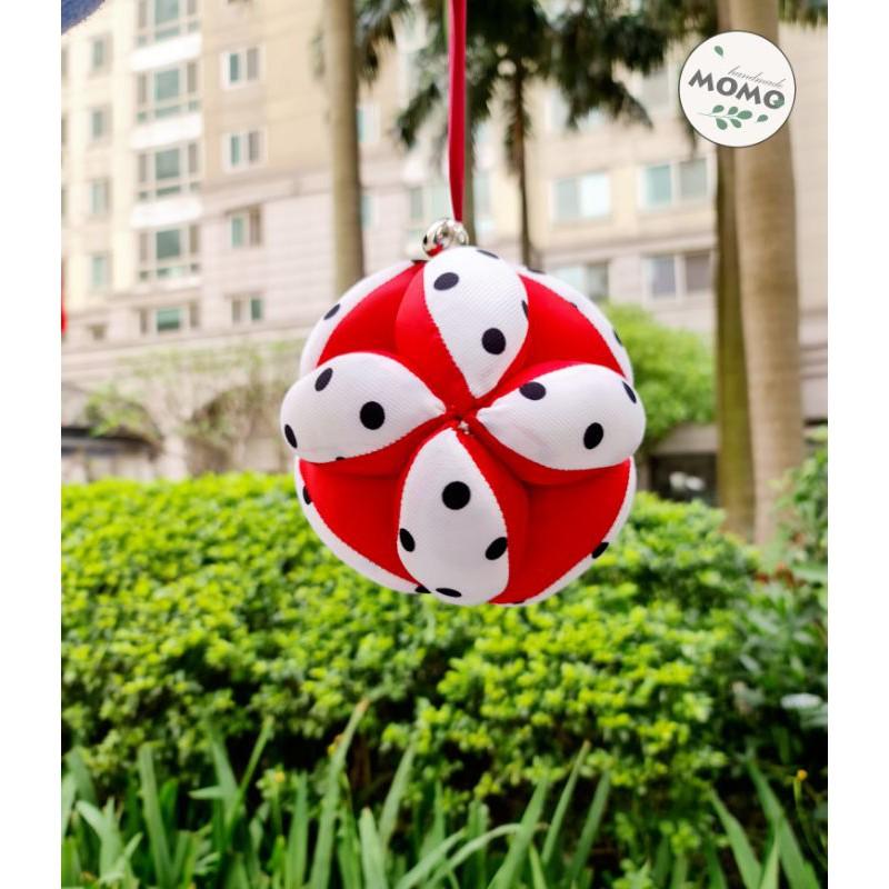 Bóng vải montessori MoMo handmade luyện vận động cho bé