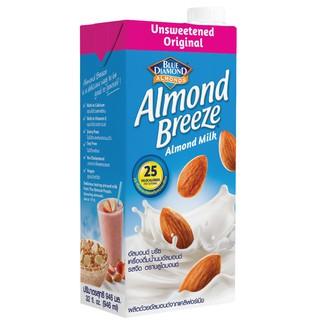Sữa hạt hạnh nhân ALMOND BREEZE KHÔNG ĐUỜNG 946ml