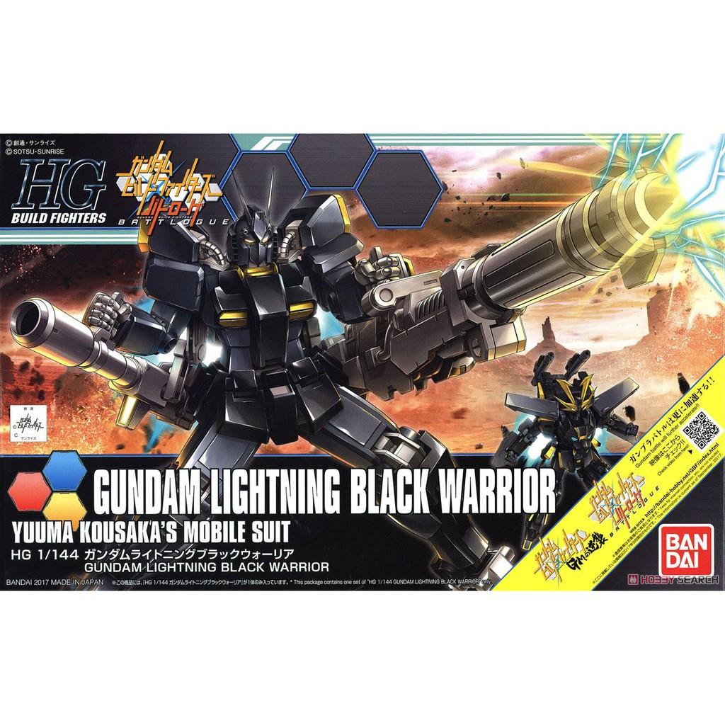 Mô hình Gundam HG BF Gundam Lightning Black Warrior