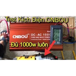 Kích Điện CNBOU 12v – 1000w, Thương hiệu hàng đầu nội địa Trung Quốc