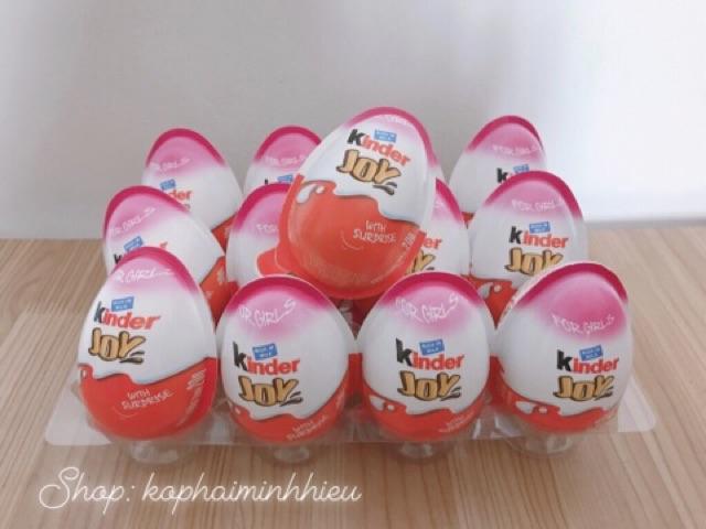 Kẹo Chocolate Kinder Joy 12 trứng