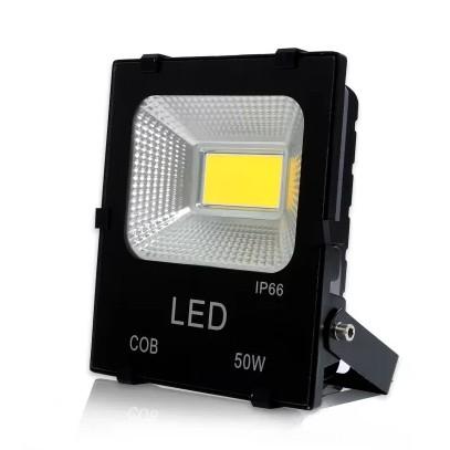 Đèn Pha led 220V-50W cao cấp chống nước COB ánh sáng trắng , vàng (hàng đủ W)