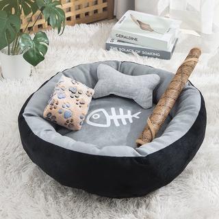 thú cưng Net người nổi tiếng trứng tart mèo con mèo nhà mèo phổ quát mùa hè cũi mèo cung cấp giường ngủ mùa hè cho mèoth thumbnail