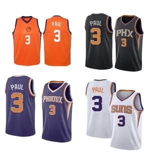 NBA Jersey SUNS Paul 3 City Edition Basketball Jersey