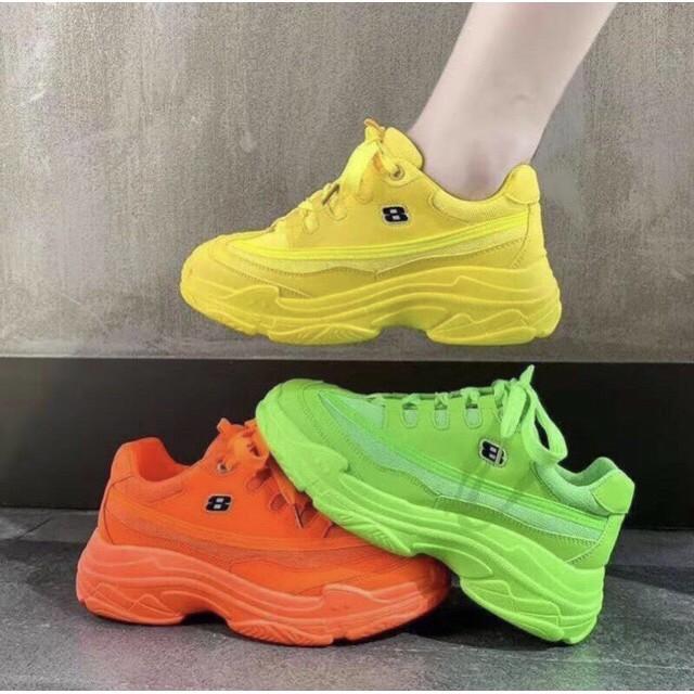 [SALE OFF] Sneaker Neon Sắc Màu cực chất - kèm clip và ảnh thật