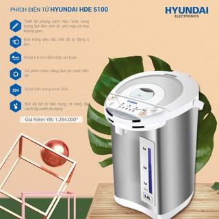 Phích điện tử Hyundai HDE 5100, Công suất 750W, Bảo hành 12 tháng.