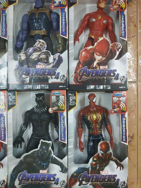 Mô hình siêu anh hùng Avenger Endgame4 bản to 30cm