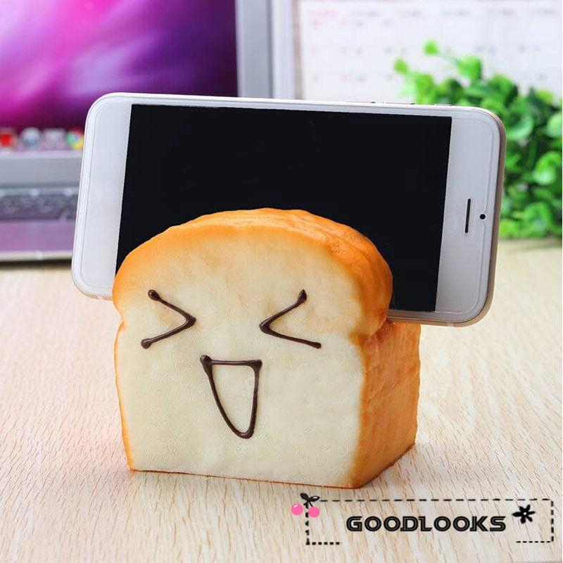 HGL♪Hottest Bread Soft Fun Slow Rising Kid Toy Squeeze Relieve Anxiety Gift