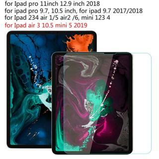 Kính cường lực bảo vệ màn hình iPad Mini 5 10.5 2019 cho iPad Pro 9.7 10.5 12.9 inch