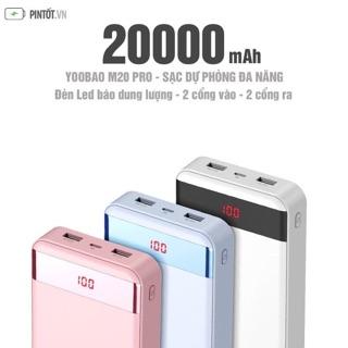 Pin dự pòng yoobao 20.000mah