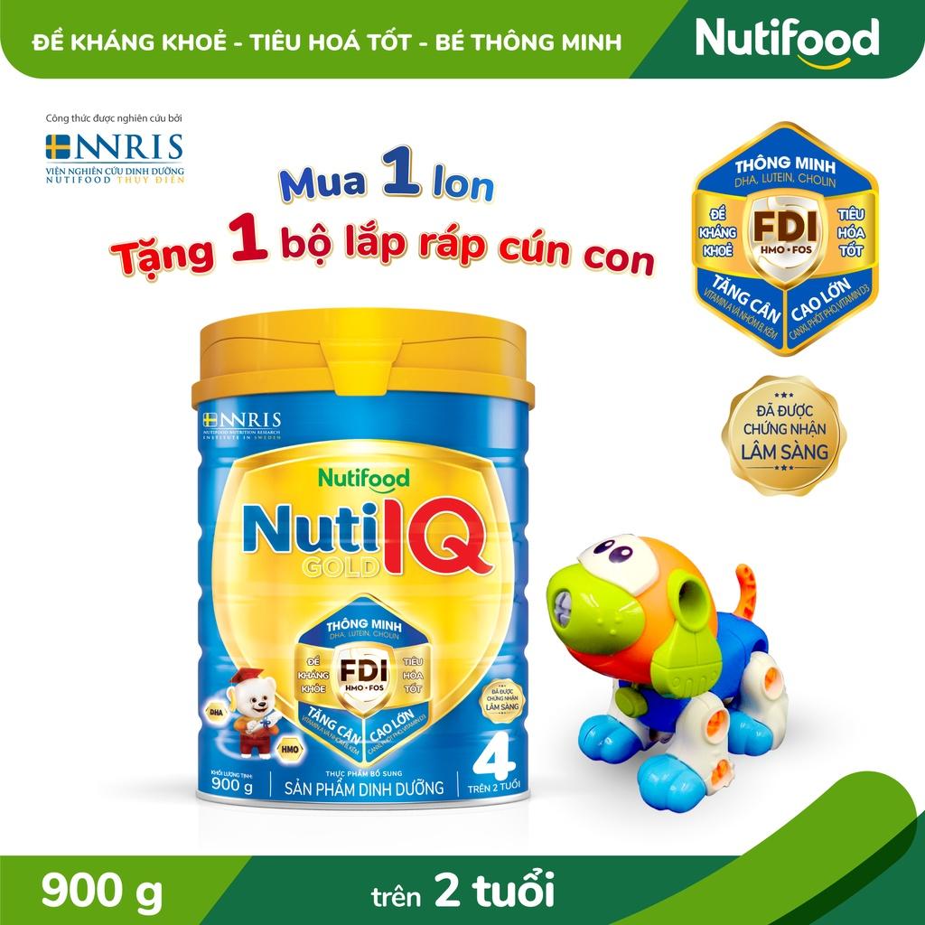 Sữa Bột Nuti IQ Gold 4 900g/lon