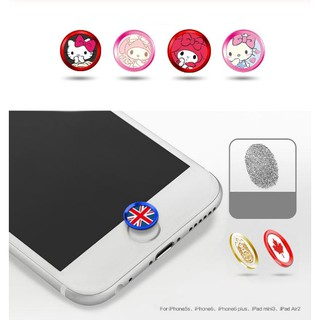 Nút Home Hoạt Hình siêu Cute Cho IPhone 5/5S/6/6S/6Plus/6SPlus/7/7Plus (Touch Id Buttom)