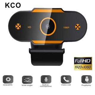 Hình ảnh KCO K9E Webcam Full HD 2K Auto focus with Microphone, For Network Broadcast Online School And Meetings Laptop Desktop YouTube Skype Facebook FaceTime-1