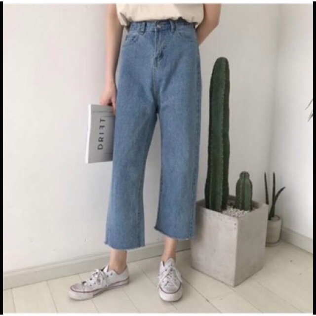 [ Order ] Quần jeans ống rộng Ulzzang - 3404797 , 1057302002 , 322_1057302002 , 230000 , -Order-Quan-jeans-ong-rong-Ulzzang-322_1057302002 , shopee.vn , [ Order ] Quần jeans ống rộng Ulzzang