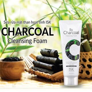 Sữa rửa mặt than hoạt tính dành cho da dầu mụn ISK thumbnail