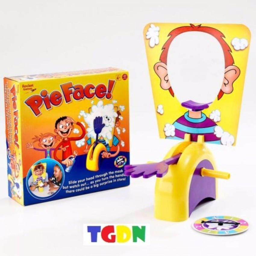 Bộ đồ chơi liên hoan, tiệc Pie Face, vả mặt (Vàng)