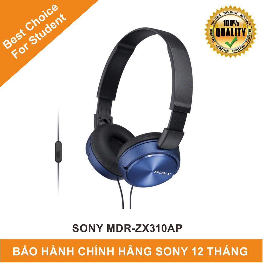 Tai Nghe Chụp Tai Sony MDR-ZX310AP | Hàng Chính Hãng Sony Việt Nam