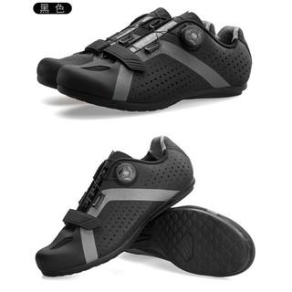 Giày đạp xe santic không cần cá giày khoá vặn