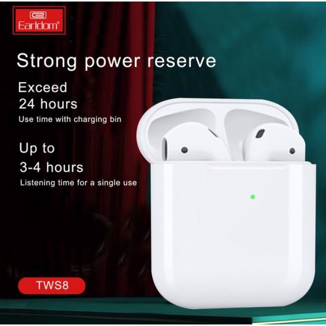 Tai nghe không dây Earldom dùng cho cả iPhone và Android