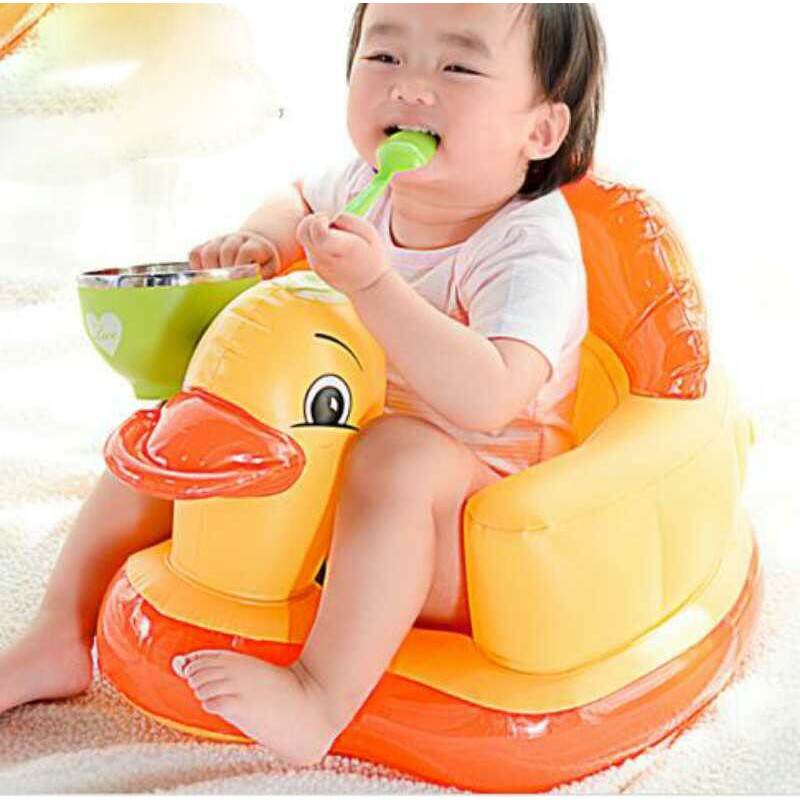 Ghế hơi cao su tập ngồi cho bé hàng loại 1