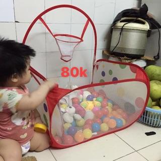 Nhà bóng + bóng (ko đủ 100 bóng)