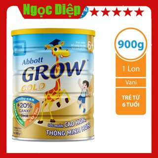 (CHÍNH HÃNG) Sữa bột Abbott Grow Gold 6+ 900g thumbnail