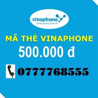 Thẻ Vinaphone 500k Nạp Điện Thoại Trả trước Và Trả Sau