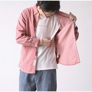 Men's long-sleeved shirt fashionable spring color collection