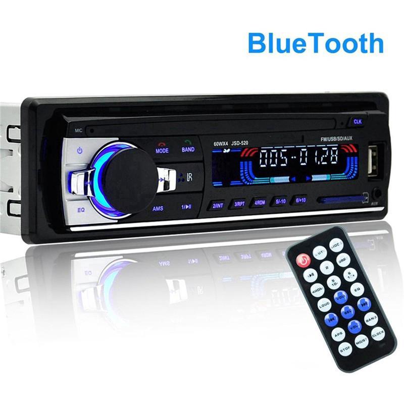 Đầu phát âm thanh nổi trên xe hơi Bluetooth Radio MP3 / USB / SD / AUX-IN / FM