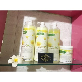 Bộ chăm sóc da hoa cúc Tẩy da chết, sữa rửa mặt, kem massage, nước hoa hồng của bộ hoa cúc thumbnail