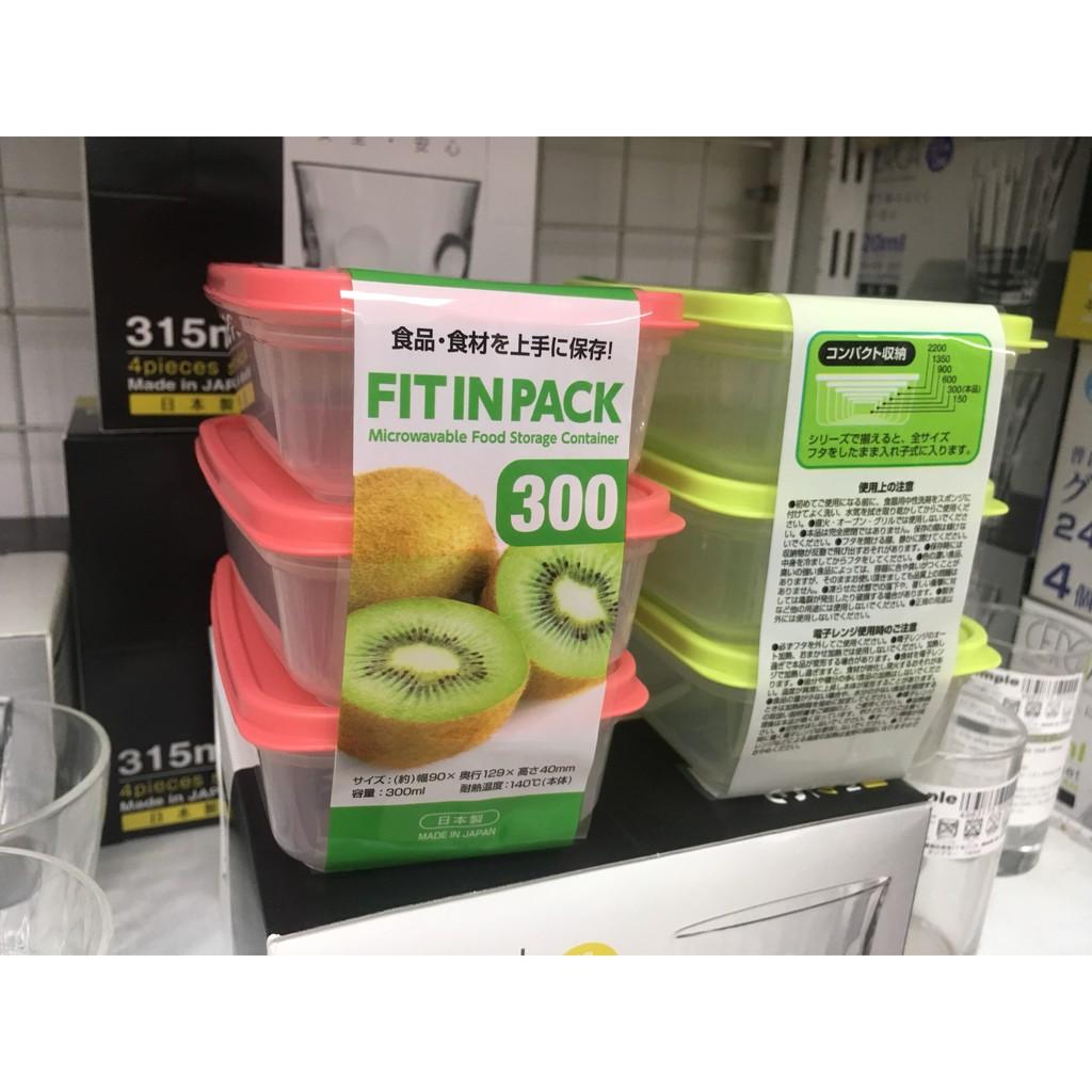 [BIG SALE] Hộp nhựa đựng thực phẩm Nhật Bản đủ kích thước dung tích Made in Japan- Hàng Nhật nội địa