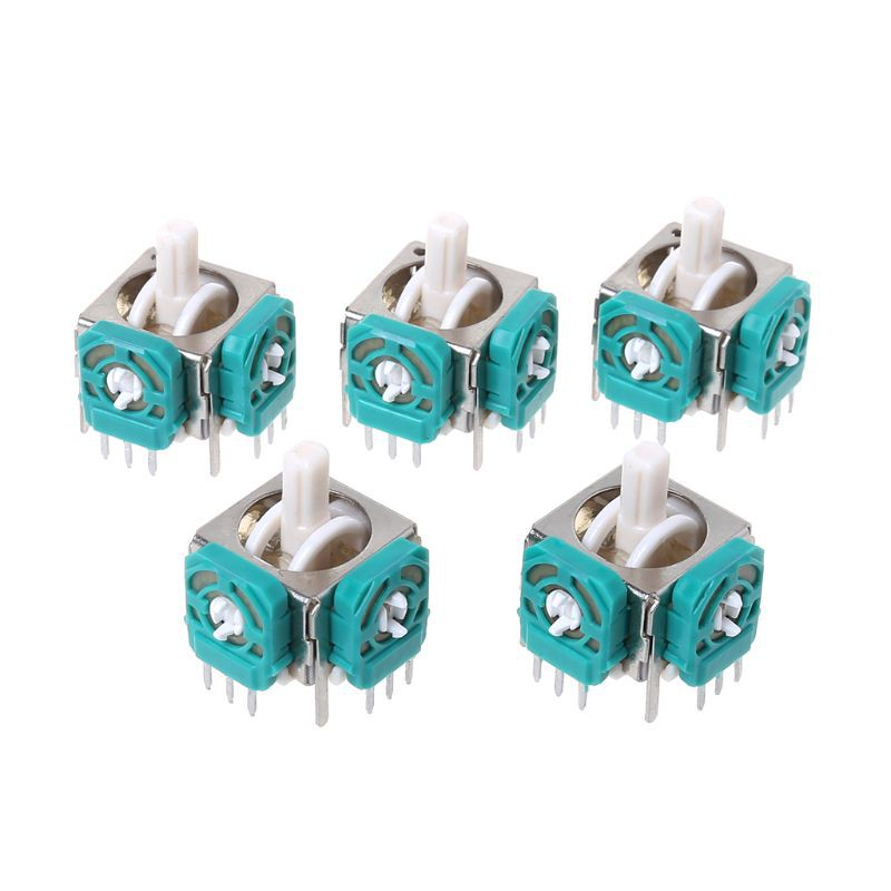 ❤❤5PCS 3D Analog Joysticks Sensor Module Stick Replacement Repair Parts Game