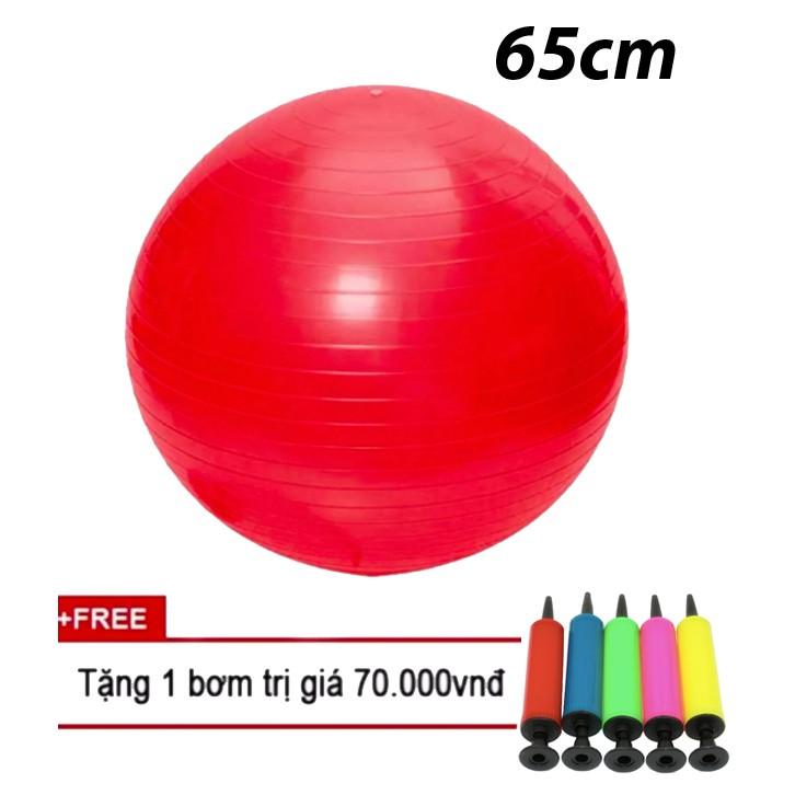 Bóng tập yoga 65cm trơn (Đỏ) - 3083341 , 1111034522 , 322_1111034522 , 219000 , Bong-tap-yoga-65cm-tron-Do-322_1111034522 , shopee.vn , Bóng tập yoga 65cm trơn (Đỏ)