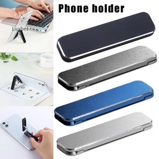 Mobile Phone Holder Mini Desktop Aluminum Alloy Holder Portable Folding Metal Stand