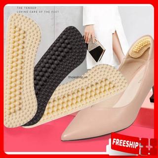 Miếng lót giày1 ĐỔI 1 Miếng lót 4D Heel Liner 9.3x2.5cm chống trầy chân, thoải mái, dễ chịu 8936