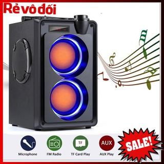 [HC MART SG] Loa Bluetooth Di Động Không Dây TOPROAD 20W Siêu Bass, Hỗ Trợ Điều Khiển Từ Xa, Màn Hình Kỹ Thuật Số.