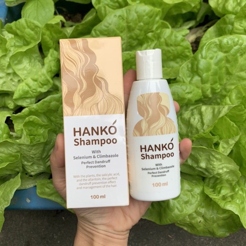 Dầu Gội Giảm Gàu, nấm, vảy nến Hanko Shampoo Hàn Quốc 100ml