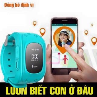 [Nhập mã ELCE giảm 10%] - Đồng hồ định vị LBS Q50 cho trẻ em hỗ trợ lắp sim màu Xanh Dương