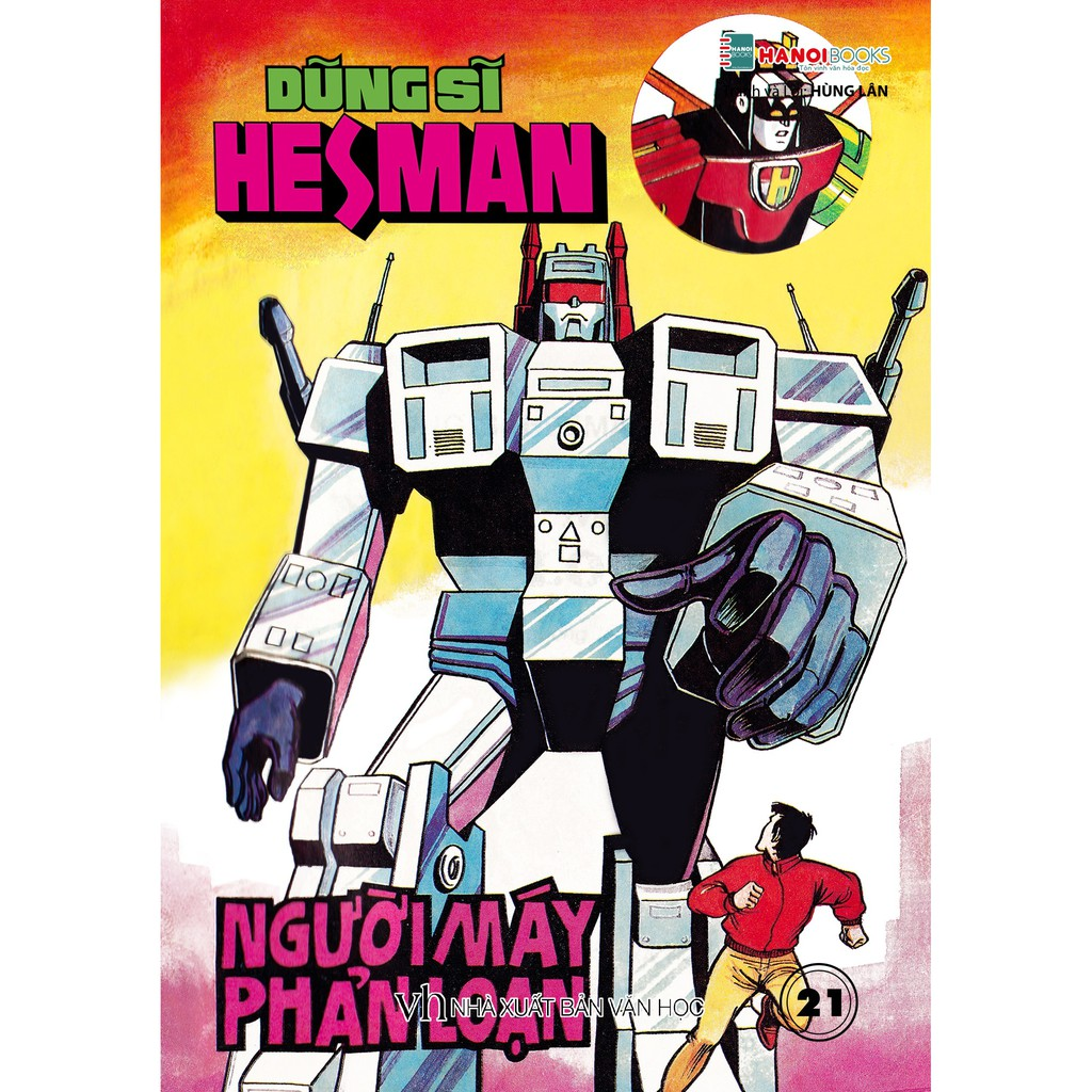 Sách - Boxset 5 : 5 Tập Dũng Sĩ HesMan