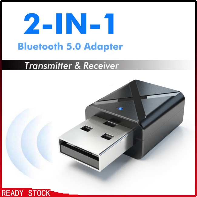Accessories MKChung 2 in 1 Two Way Wireless Bluetooth 4.0 Stereo Music Receiver Transmitter 3.5mm A2DP AUX Audio Adapter