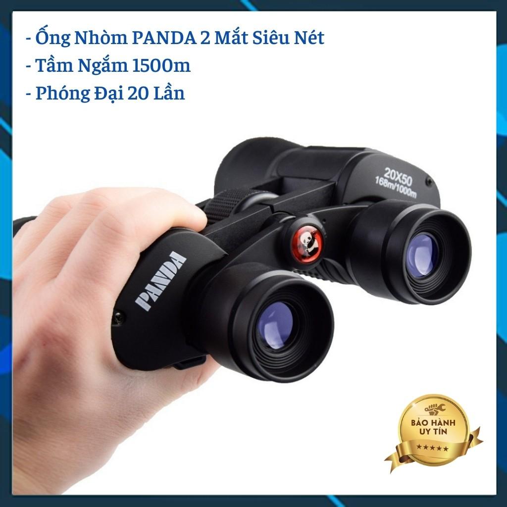 Ống Nhòm Panda (Binocular) 2 Mắt Zoom Siêu Xa Hình Ảnh Rõ Nét Chân Thực Bảo Hành 12 Tháng