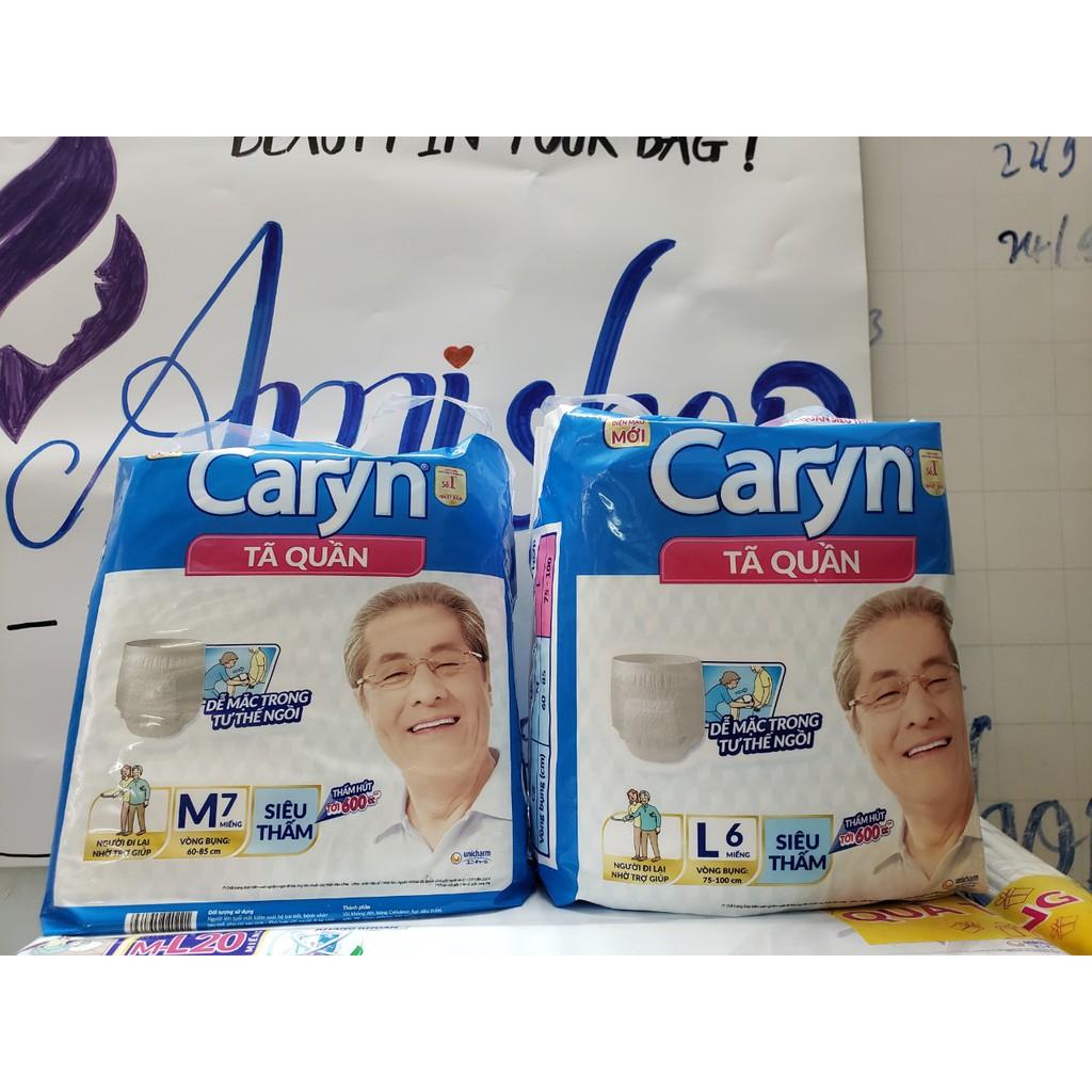 Tã quần Caryn siêu thấm M7/L6