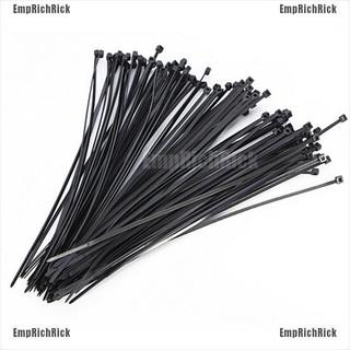 Set 100 dây khóa nhựa màu đen 10cm đa năng tiện lợi dễ sử dụng thumbnail