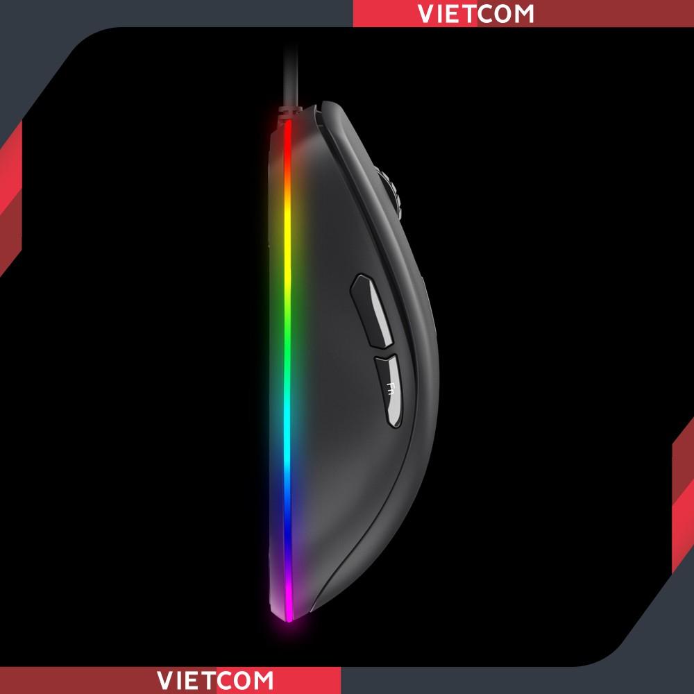 Chuột Gaming DAREU EM908 (LED RGB, BRAVO sensor) - Hàng chính hãng bảo hành 24 tháng