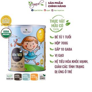 Sữa hạt hữu cơ Miwako không đường vị gạo thúc đẩy khả năng nhận thức & kiểm soát cảm xúc cho trẻ 1+ Hộp 700g - Orgavil thumbnail