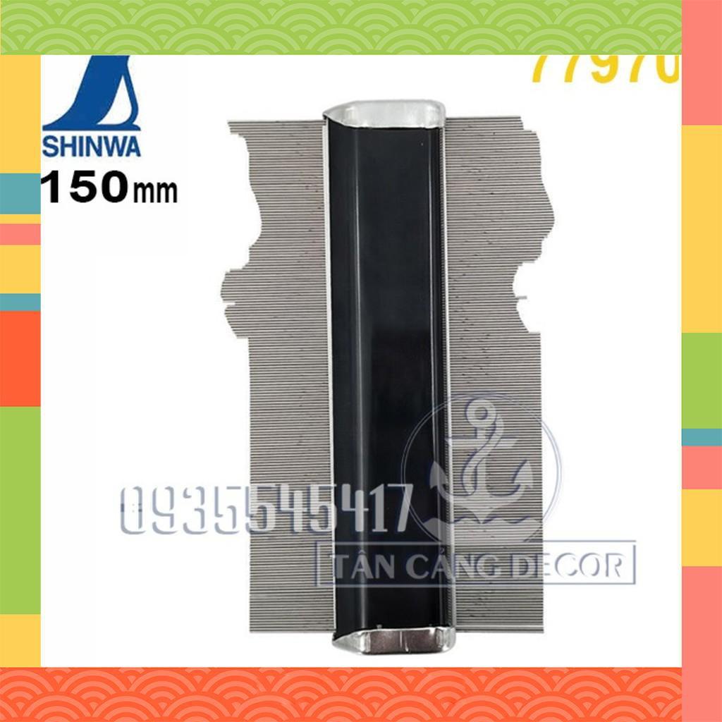 [BÁN CHẠY] Dụng cụ chép hình mẫu Shinwa 150 mm BÁN CHẠY.