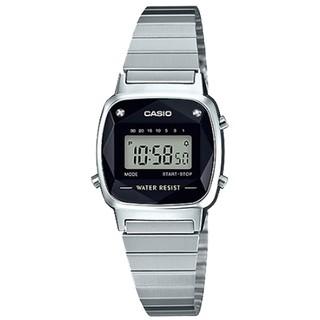 [Mã FARSBR153 giảm 15% đơn 150K] Đồng hồ nữ dây kim loại chính hãng casio LA670WAD-1DF